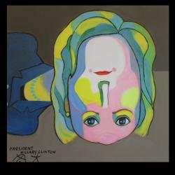 Triễn lãm hội họa tại Seattle - Tranh Upsidedown - Báo đăng