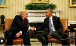 Tổng thống đắc cử Donald Trump nói ông rất tôn trọng Obama, người mà ông từng gọi là