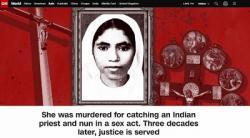 Ấn Độ: Linh Mục Kottoor và Sơ Sephy bị vô tù vì tội giết Sơ Abhaya cùng tu viện