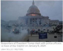 Chuyện Gì Xảy Ra Ở Tòa Nhà Quốc Hội Ngày 06-01-2021?