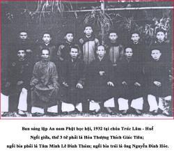 Hội An Nam Phật Học Và Vị Trí Của Huế  Trong Phong Trào Chấn Hưng Phật Giáo Ở Việt Nam Thế Kỷ XX*