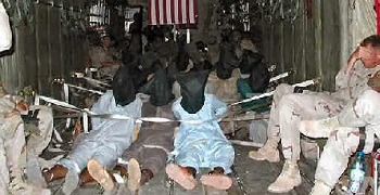 As of July 2005, there were said to be more than 500 detainees in the camp